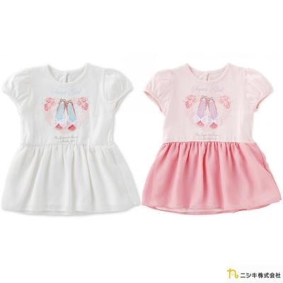 Nishiki 日本株式會社 芭蕾舞鞋公主短袖紗裙洋裝