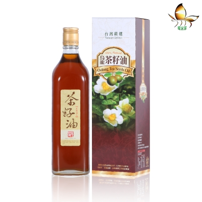蝶米家 100%台灣天然茶籽油(600ml)