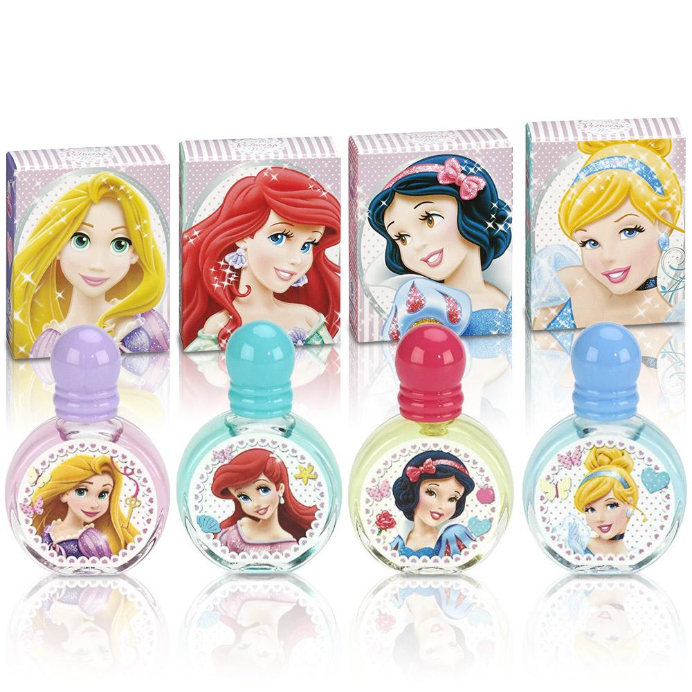 Disney 迪士尼 公主嘉年華 小香禮盒4入組II【贈】同品牌噴霧隨機款*1