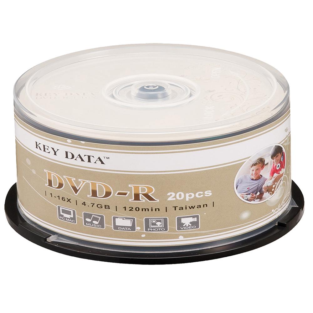 KEY DATA 花藤 16X DVD-R 20片桶