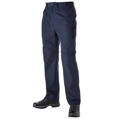 【Berghaus 貝豪斯】男款防潑水抗UV兩截褲S08M01-藍