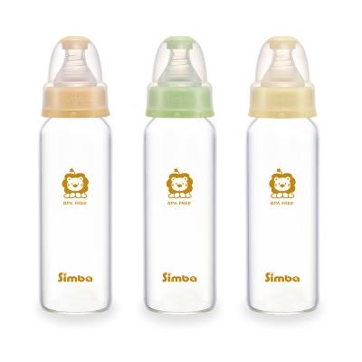 小獅王辛巴 超輕鑽標準玻璃大奶瓶3支組(240ml)
