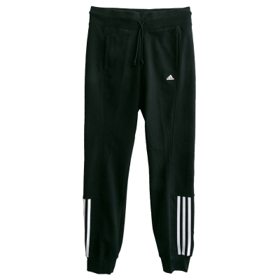 Adidas-ESS-MID-3S-運動長褲-女