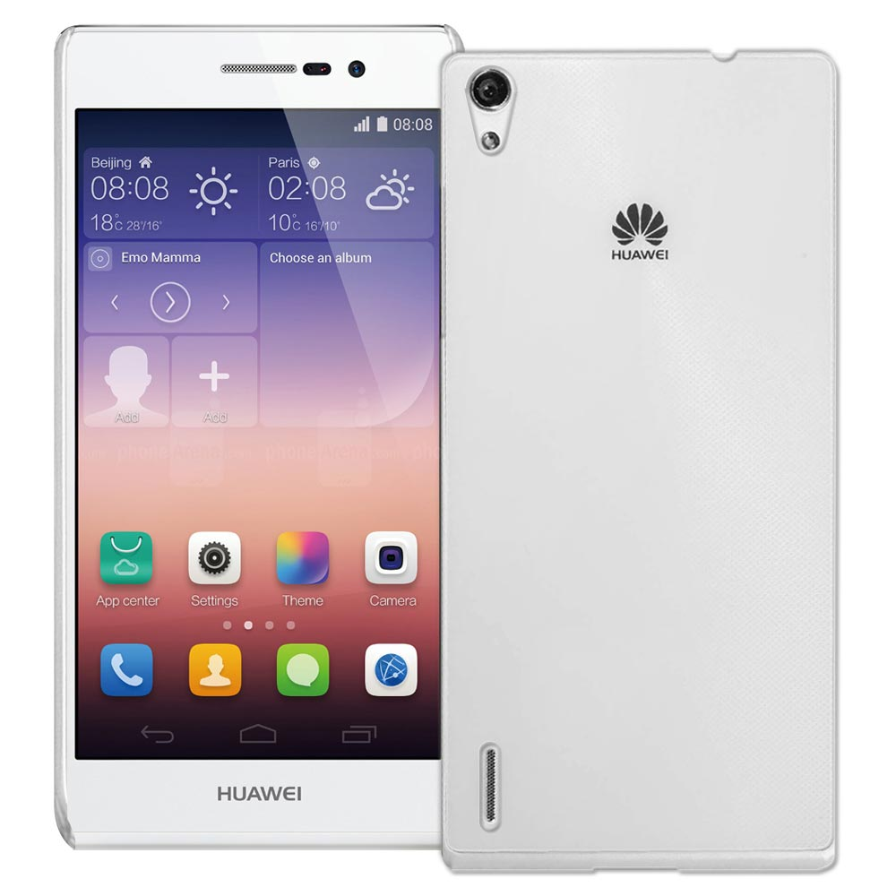 Yourvision 華為 HUAWEI Ascend P7 超耐塑晶漾高硬度(薄)背殼