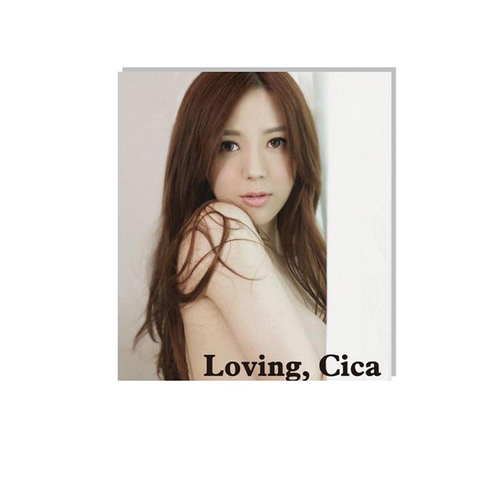 周韋彤 首部個人寫真全記錄 (寫真集+DVD)台灣初回限定版Loving Cica