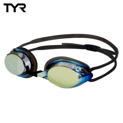 美國TYR 成人用競速電鍍泳鏡 Velocity Metallised