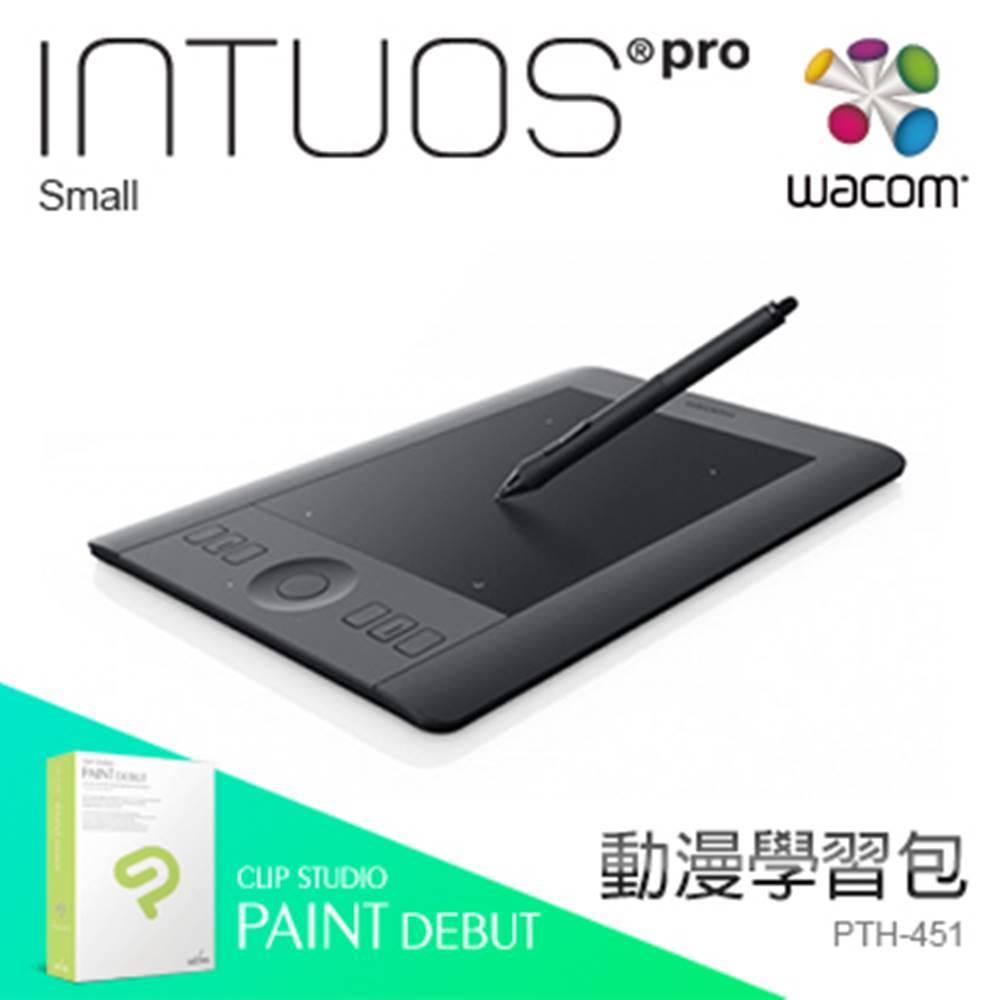 [漫畫學習包] Wacom Intous Pro Touch Small 繪圖板 PTH-451