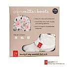 美國 GOUMIKIDS 有機棉手腳套禮盒 (魔法花園)