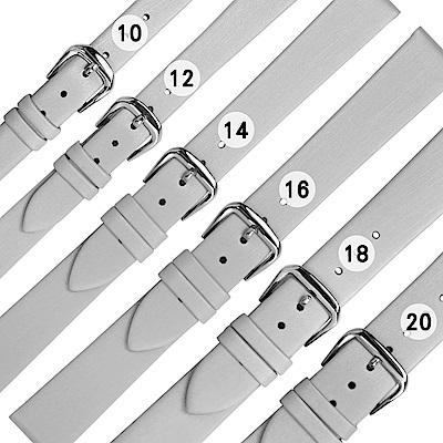 Watchband / 各品牌通用柔軟真皮錶帶-灰色
