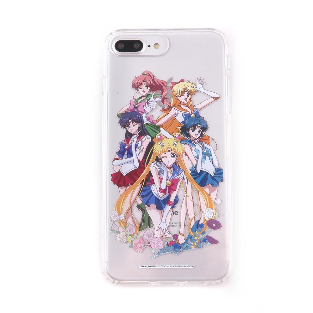 美少女戰士 iPhone 6s/7/8 Plus(5.5吋)共用 雙料保護殼套_大集合
