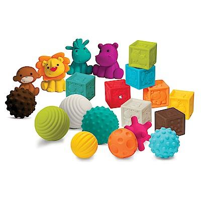 美國 Infantino 寶貝益智軟質玩具組