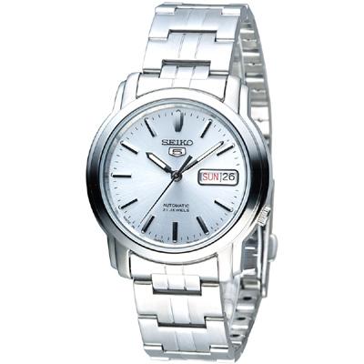 CASIO手錶專賣店 SEIKO精工  SNKK65J1 機械男錶 不鏽鋼錶帶  強化玻璃 防水