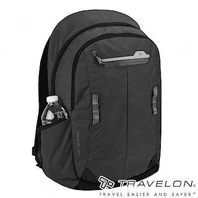 Travelon美國防盜包 防割鋼網旅行運動系列後背包TL-43129Z1黑16