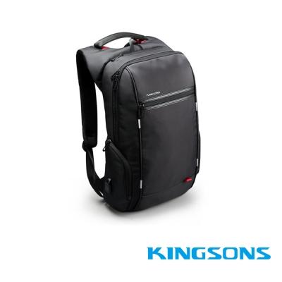 Kingsons-ks3144w 15.6吋 USB行動充電 電腦後背包 B款