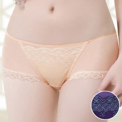 莎薇 魔力推推 心機魔力扣 系列 M-LL中低腰平口褲(紫水晶)