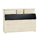 品家居 萊夫3.5尺單人皮革床頭箱(二色可選)-109x30x112.5cm免組