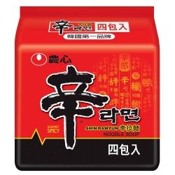 (活動)農心 辛拉麵(120g×4入)
