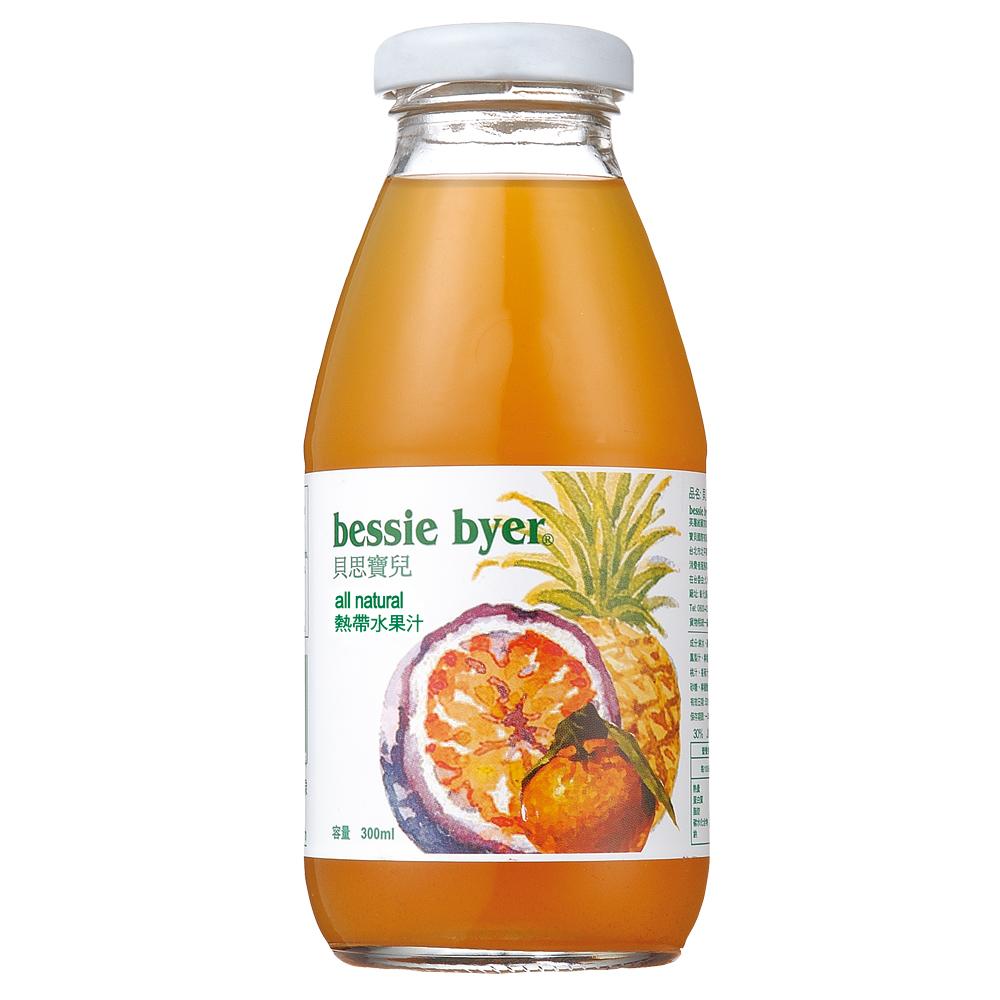 貝思寶兒 熱帶水果汁(300mlx4入)