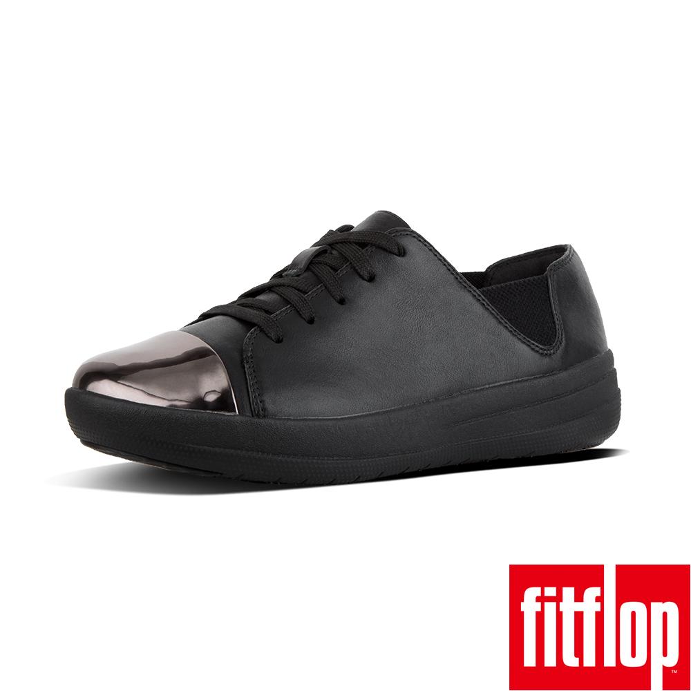 FitFlop F-SPORTY MIRROR-TOE-黑