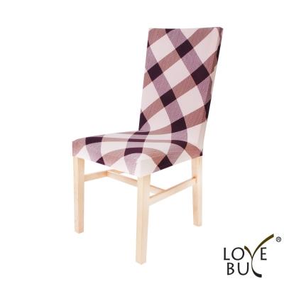 Love Buy 居家彈力椅套四入-人文風格