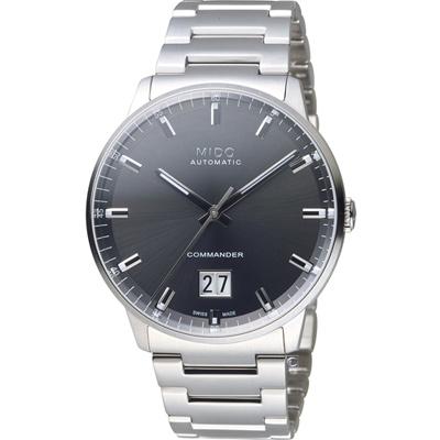 MIDO美度 指揮官系列 Big Date 紀念日手錶 -42mm