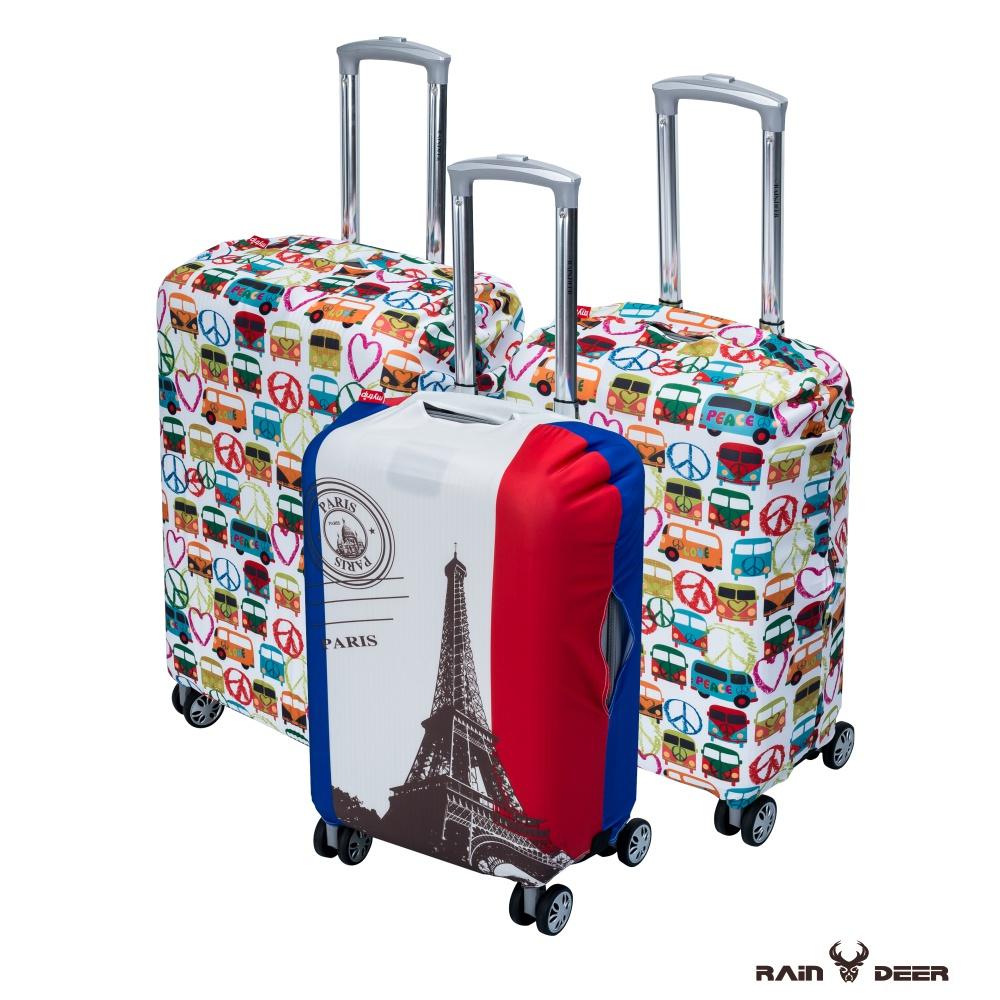 RAIN DEER 高彈力行李箱保護套輕旅行系列(適用20吋-隨機出貨)
