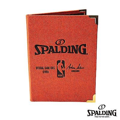 SPALDING 斯伯丁 籃球皮 插入式記事本(大) PORTFOLIO 筆記本