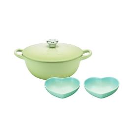 LE CREUSET新色鍋具3件組43折-折後6704