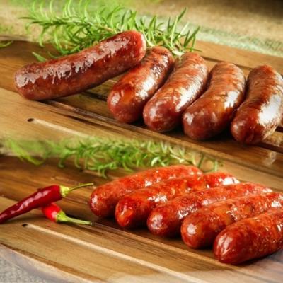 三源牧場樂活豬 阿拉米奇+高粱+辣味香腸6入組(3種口味各2包)