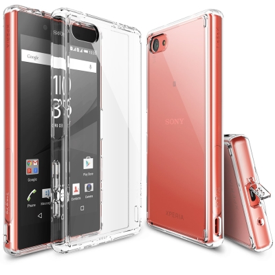 RINGKE Sony Xperia Z5C Fusion 透明背蓋手機保護殼