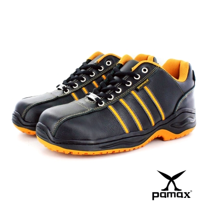 PAMAX帕瑪斯止滑安全鞋【超彈力氣墊、抗滑、鋼頭工作鞋】男女