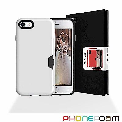 Phonefoam GOLFLIGHT iPhone7/8插卡式立架吸震保護殼
