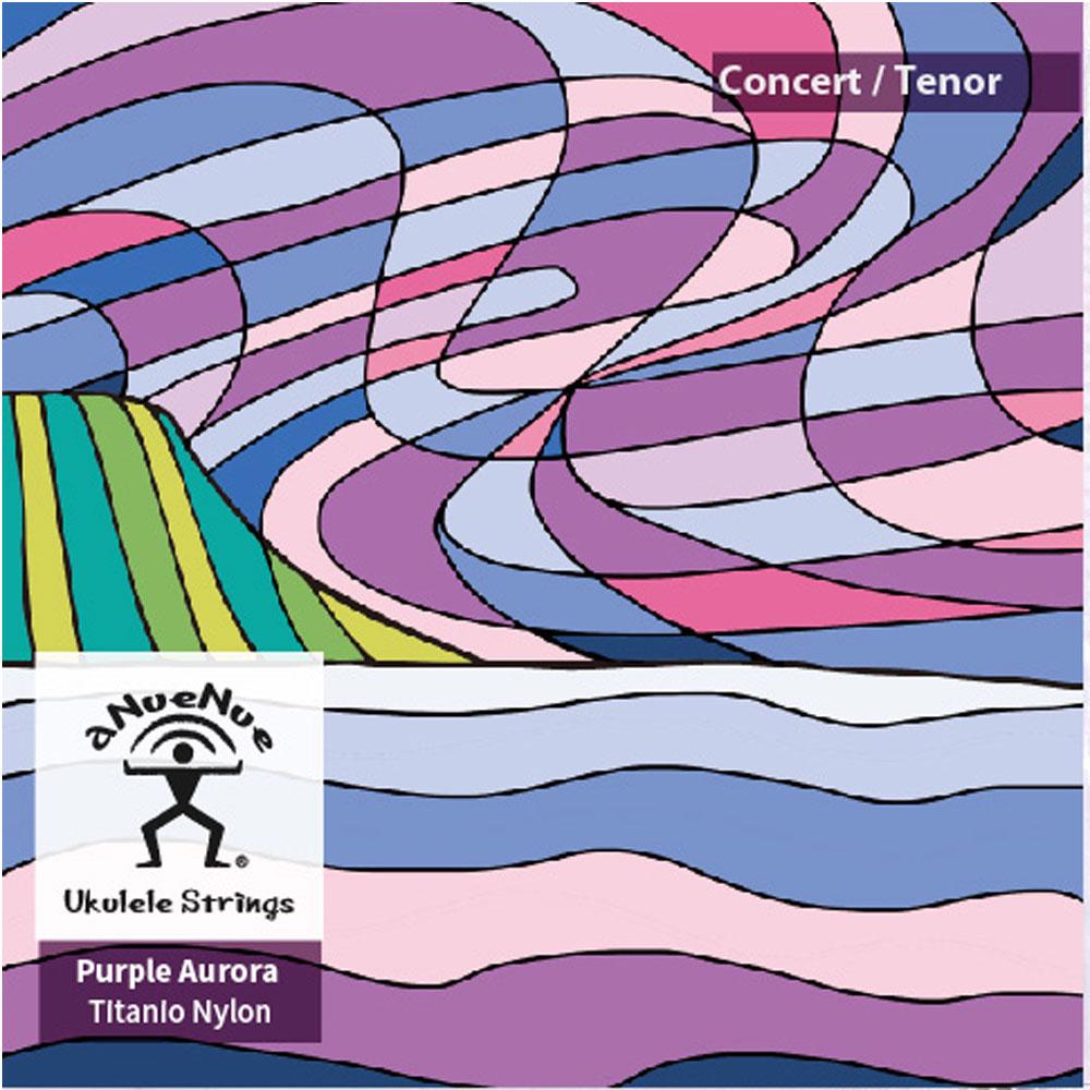 aNueNue AS-PA 紫極光烏克麗麗套弦 23.26 吋使用