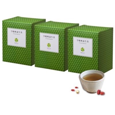 風車生活-幫助孕期健康維持-孕媽咪養生茶3盒-每盒