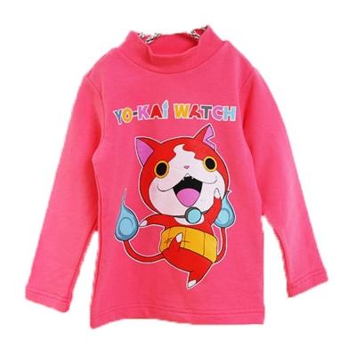 魔法Baby 台灣製妖怪手錶兒童長袖半高領上衣 k44768