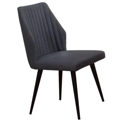 AT HOME - 韋伯皮餐椅(兩色可選) 46x50x88cm