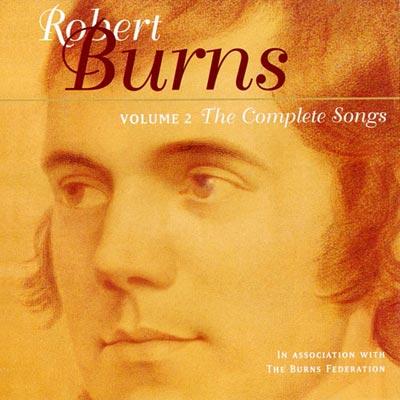 伯恩斯歌曲全集第二集-CD