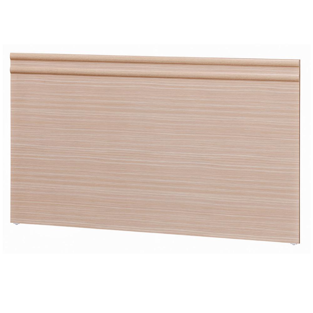 品家居 林莫5尺木紋雙人床頭片(六色可選)-152x2x89cm免組 product image 1