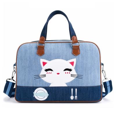 iStyle 貓咪牛仔筆電包 (13.3吋)