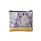 ANDSOME 紫色石紋收納袋