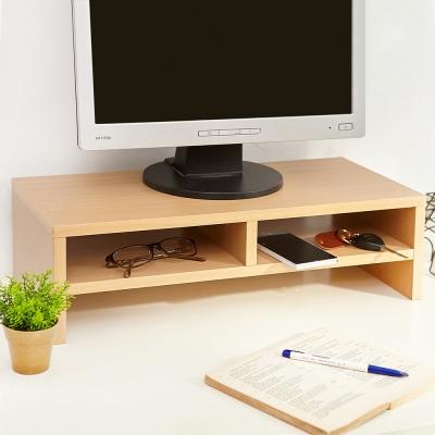 澄境 環保低甲醛雙層桌上螢幕置物架-DIY