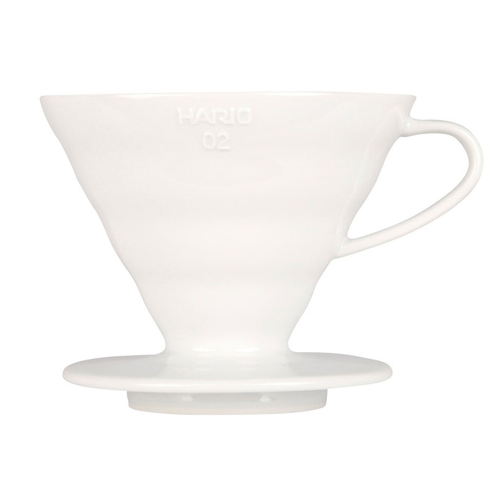 HARIO-V60白色02磁石濾杯1~4杯 / VDC-02W