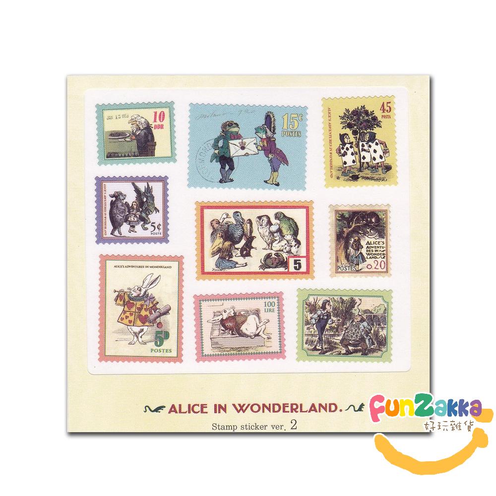 7321郵票貼紙組V2-愛麗絲