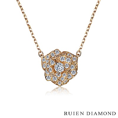 RUIEN DIAMOND 輕珠寶系列29分 14K金鑽石項鍊