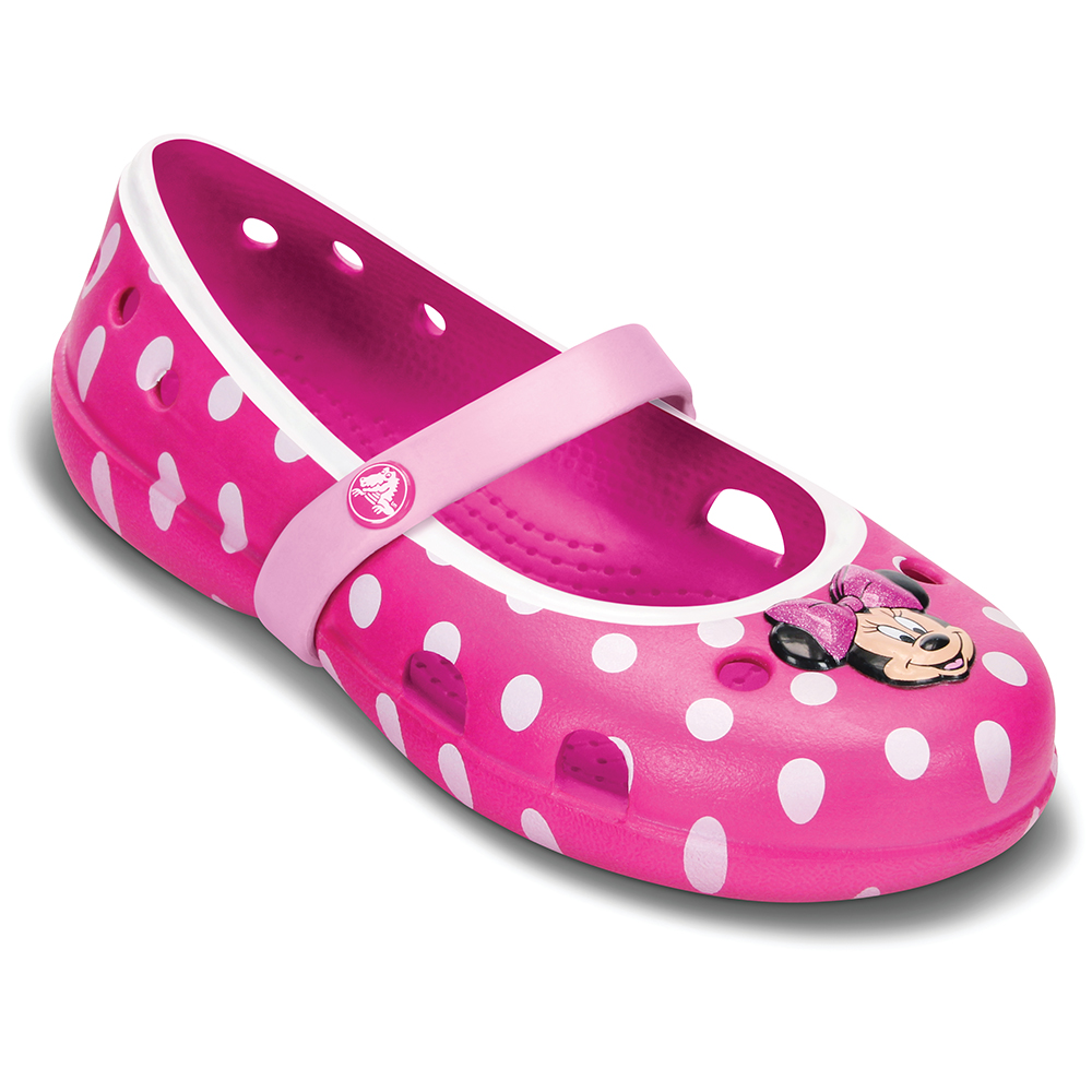 Crocs 卡駱馳(童) 米妮琦莉輕便鞋PS-15264-6AO