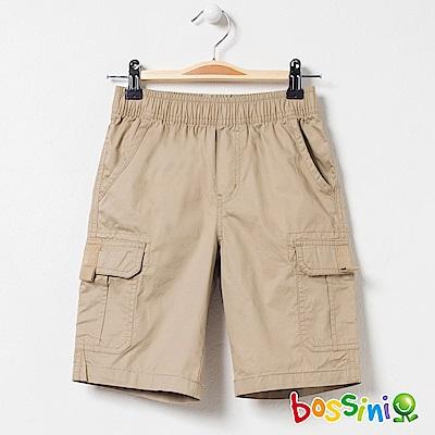bossini男童-休閒口袋短褲01卡其