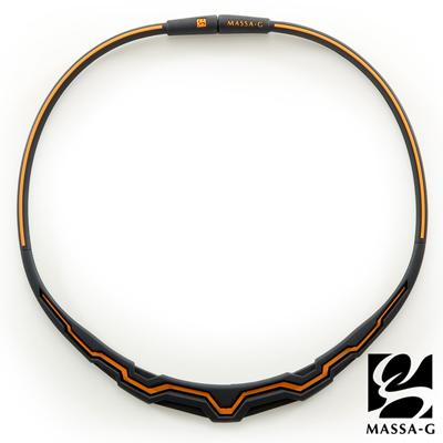 MASSA-G【The Aurora 極光系列-Orange】 鍺鈦項圈