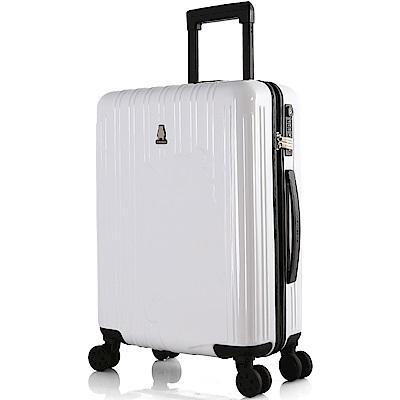 SWISSMOBILITY 瑞動 熊本熊20吋PC耐撞TSA海關鎖行李箱/旅行箱(白色)