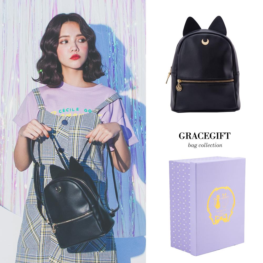 Grace gift-美少女戰士LUNA立體貓耳後背包