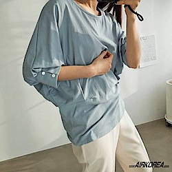 【AIRKOREA正韓空運】正韓造型袖口上衣